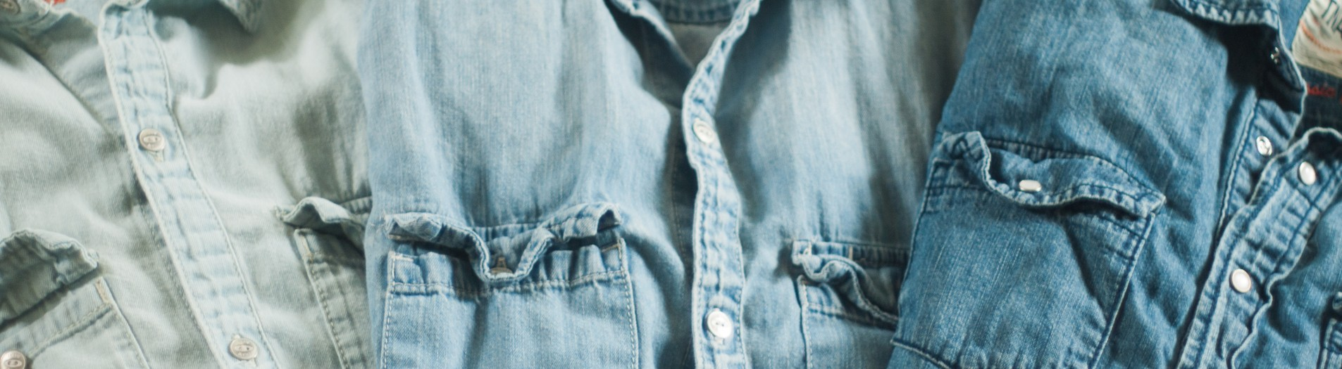 Current Rotations/Denim Chambray Shirts